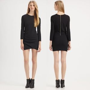 IRO Diana Asymmetrical Shift Dress